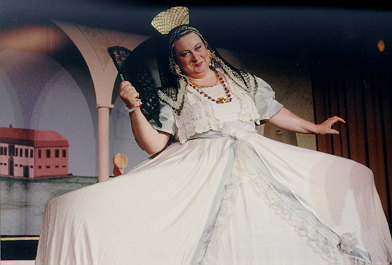 Pamela in The Gondoliers 1998 — 'The Duchess of Plaza-Toro'