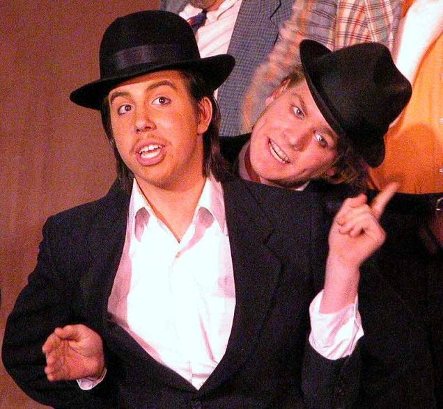 Ethan in The Gondoliers 2005 — 'Guilo', with Christopher Adams — 'Colombo'