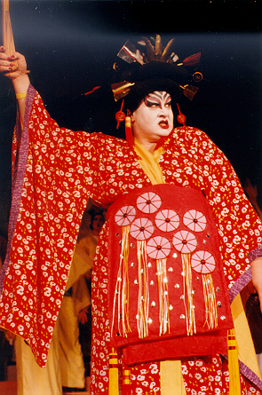 Pamela in The Mikado 1995 — 'Katisha'